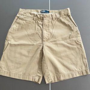 Ralph Lauren Men's khaki shorts size 31